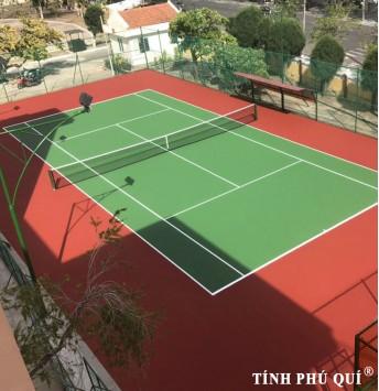 thi cong san tennis chuan tinh phu qui 1