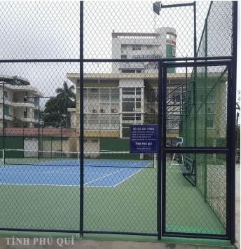 hàng rào sân tennis lưới b40 cao 4,2m