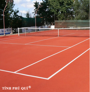 sân tennis đất nện chuyên nghiệp