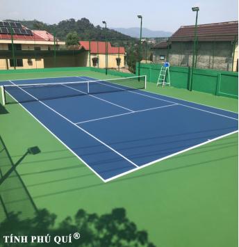 sơn sân tennis 9 lớp