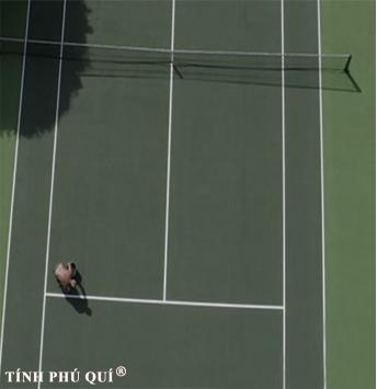 nâng cấp sân mặt sân tennis