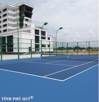 nâng cấp sân mặt sân tennis sơn usa